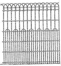 decorative wire garden fence. Cemetery Ironwork | Fencing Preservation Chicora  Foundation Decorative Wire Garden Fence D