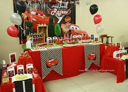 Cars Table Decorations Theme Cars Disney Its More Than Just A Party