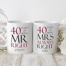 ruby wedding anniversary gifts