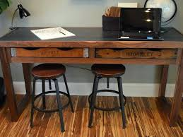 home office table desk. Rustic Corner Desk Office Table Home Furniture Wood White Pine