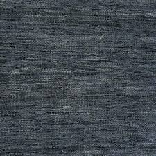 woven leather rug woven leather slate blue rug woven leather rug