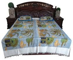 bed cover sets nature printed cotton bedding bedspreads indian decor