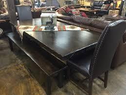 mountain alder dining collection mtn alder solid knotty alder trestle table