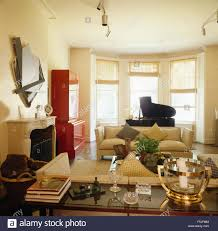Window In Living Room Living Room With Bay Window In Chelsea Home London Uk Stock