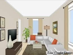 Rectangular Living Room