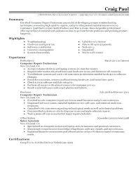Resume Examples For Pharmacy Technician Sample Resume Technician