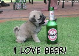 Μου αρέσει πολύ η μπύρα!