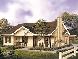 country style home with large front porch
