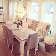 dining table bench seat. Love The Grey Chairs With Bench. Keeping Same Color Theme But Unique Pieces Dining Table Bench Seat