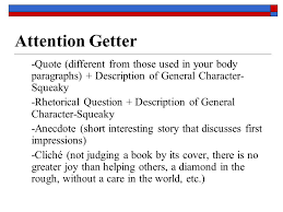 literary analysis essay ppt 5 attention