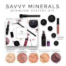 an image of a warm tone savvy minerals makeup starter kit
