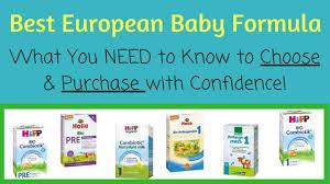 Best European Baby Formulas Baby Formula Expert