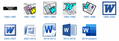 Mirco Soft Word 35 Years Of Microsoft Word Design History 79 Images