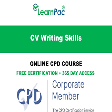 Cv Writing Online Cv Writing Skills Training Online Course Cpd Accredited E Learning