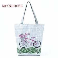summer beach bags.  Bags Fresh Style Plaid Printed Canvas Tote Bag Female Summer Beach Bags Floral  Design Shoulder Shopping Throughout Y