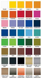 Plutonium Paint Color Chart Spraypaint Plutoniumpaint