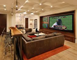 rec room lighting. multiple tvs rec room home theater traditional with cool lighting leather sectional sofas h