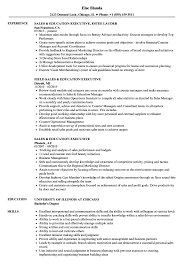 Executive Resume Sample Sales Education Executive Resume Samples Velvet Jobs 36