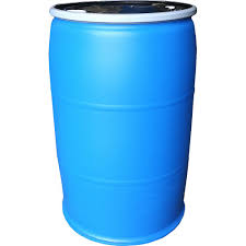 blue 55 gallon drum. Wonderful Drum EarthMinded 55 Gal Open Top Plastic Industrial Drum With Lid And Lockband   With Blue Gallon