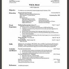 Make Perfect Resume How To For Campus Interview Using Pdf Good A