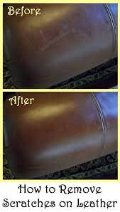 how to remove scratches on leather