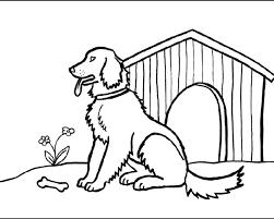 Cane Nella Cuccia Da Colorare Online Gratis Disegni Da Colorare E