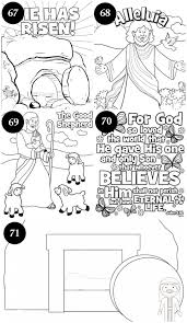 Free Easter Coloring Pages Easter Church Theme Pinterest