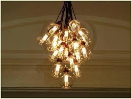 light bulb chandelier diy vintage bulb chandelier filament light bulb chandelier home design ideas intended for light bulb chandelier diy