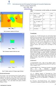 Vertical Axis Wind Turbine Design Pdf Aerodynamic Analysis Of Blade 1 5 Kw Of Dual Rotor