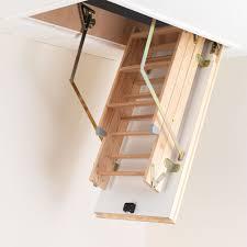 luxfold timber loft ladders