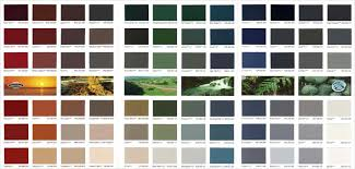 Resene Paint Chart Resene Hi Glo Arylic Roof Paint Systems Natural Hues