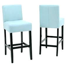 Light Blue Bar Stools Breakfast Inch  Leather O71