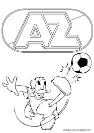 Welkom Op Donaldducknl Kleurplaten Donald Duck Voetbal