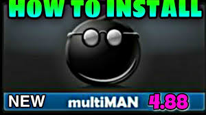 how to and install multiman on