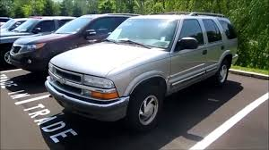 Blazer chevy blazer 2002 : 2001 Chevrolet Blazer LT 4.3 V6 Start Up and Full Tour - YouTube