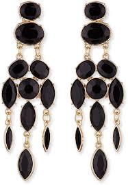 jules smith designs jules smith black drop chandelier earrings