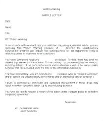 Employee Write Up Policy How To Write A Disciplinary Action Aconcept Co