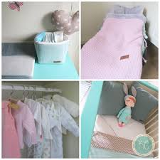 Babykamer Mintgroen Gordijnstof In De Kleur Mint Met Witte Sterren