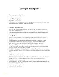 Retail Sales Associate Job Description For Resume Interesting Retail Manager Job Description Resume Store New Descrip
