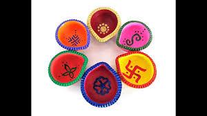 Diya Painting Designs 6 Diwali Diya Decoration Ideas Part 1 Beautiful Diya Painting Designs