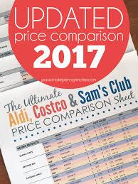 The Ultimate Aldi Costco Sams Club Price Comparison
