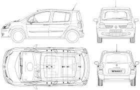 Imprimer Le Coloriage Vehicules Voiture Renault Numerol L
