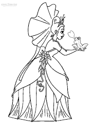 princess tiana coloring pages medium princess and the frog coloring pages