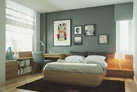 painting apartment wallsFramed Art Painting In A Modern Apartment Bedroom Design With