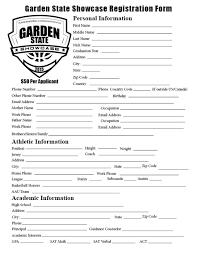 Garden State Hoops Gardenstate Showcase Registration