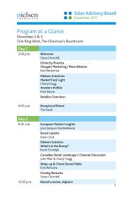 Sales Advisory Board Meeting Agenda By Kathy Zonyk Via