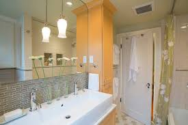bathroom remodeling portland. Portland Small Bathroom Remodeling With Bamboo Hand Towels Traditional And Custom Cabinets Color Heated Floors