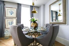 transitional dining room sets. Transitional Round Dining Table Decoration Room With Gold Accents Chairs Framed . Sets