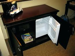 tiny refrigerator office. Compact Refrigerator Cabinet Mini Fridge Stand For Office  Top On Opens And Microwave Tiny