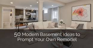 Basement Design Ideas Gorgeous 48 Modern Basement Ideas To Prompt Your Own Remodel Home